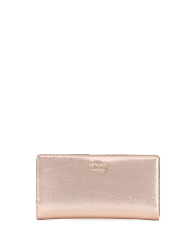 highland drive stacy metallic wallet
