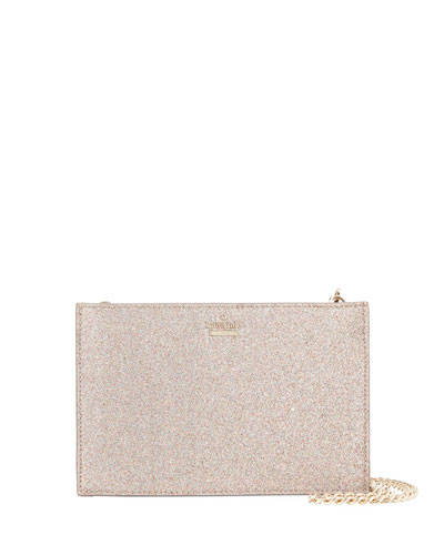 burgess court sima mini glitter crossbody bag