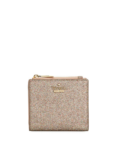 burges court adalyn glitter clutch bag