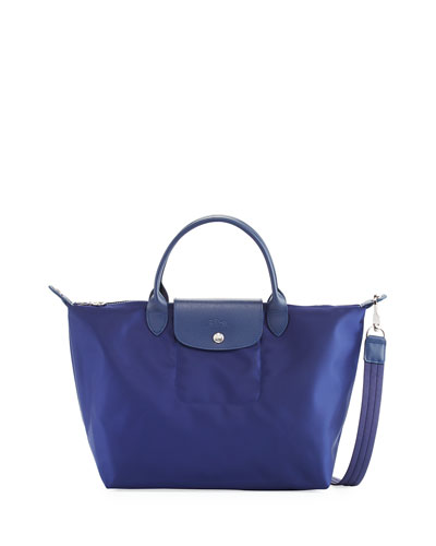 Le Pliage Neo Medium Handbag with Strap