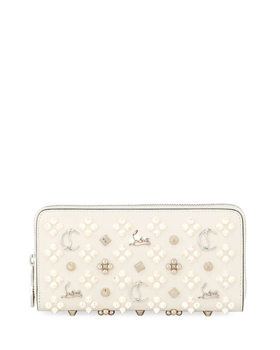 Panettone Embellished Zip Wallet