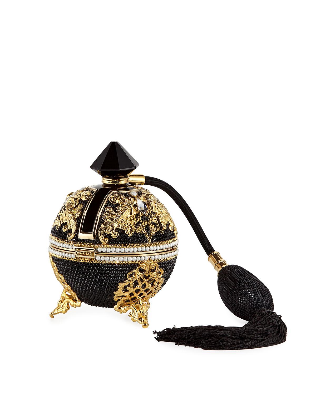Bal Noir Crystal Perfume Minaudiere