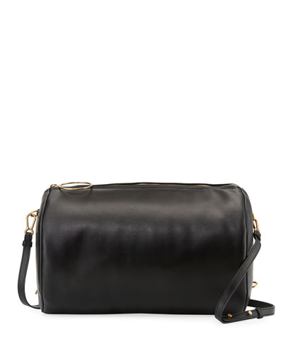 Smooth Cylinder Shoulder Bag