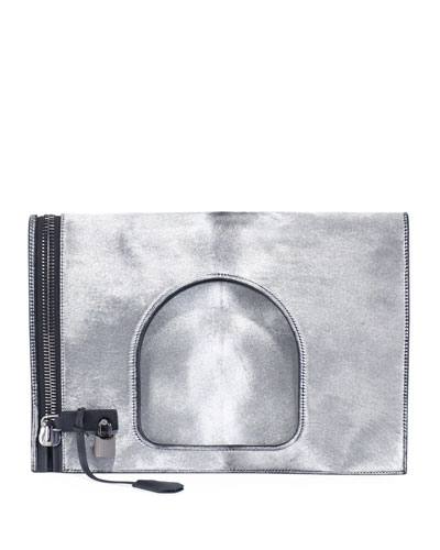 Alix Large Fold-Over Handbag