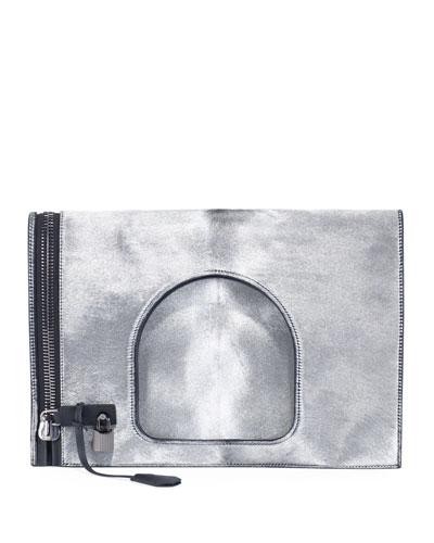 Alix Large Fold-Over Handbag