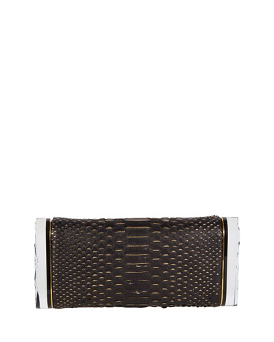 Soft Lara Python Clutch Bag