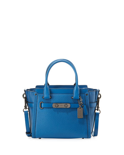 Swagger 21 Leather Satchel Bag
