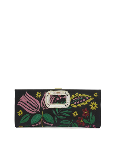 Pilgrim Small Flowers Clutch Bag
