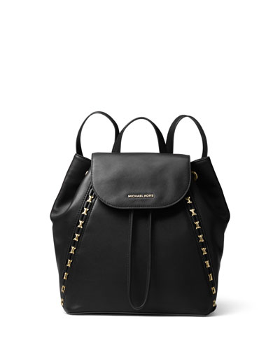 Sadie Medium Studded Leather Backpack