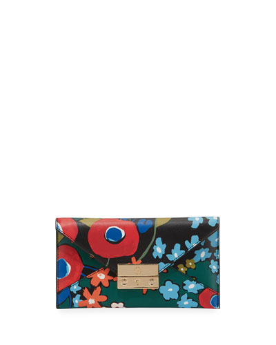 Juliette Printed Envelope Wallet, Darling Floral