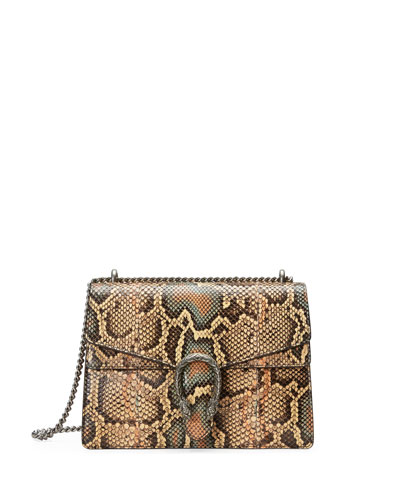 Dionysus Medium Python Shoulder Bag