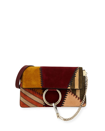 Faye Small Patchwork Shoulder Bag