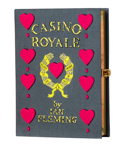 Casino Royale Book Clutch Bag
