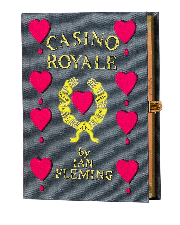 Casino Royale Book Clutch Bag