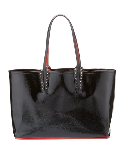 289bf0cfc9bb Quick Look. Christian Louboutin · Cabata Small Spiked Patent Tote Bag