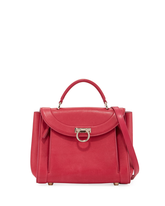 Small Rainbow Top Handle Bag