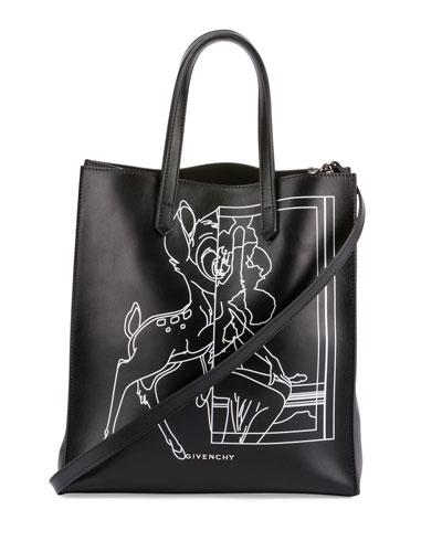 Stargate Bambi® Medium Shopper Tote Bag, Black