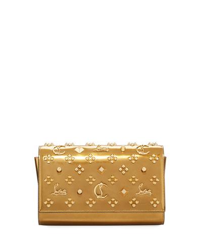 Paloma Metallic Embellished Clutch Bag