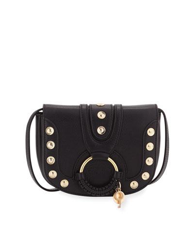 Hana Mini Studded Leather Shoulder Bag