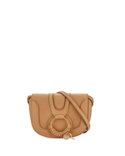 Hana Mini Leather/Suede Shoulder Bag