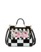 Sicily Medium Floral-Print Bag