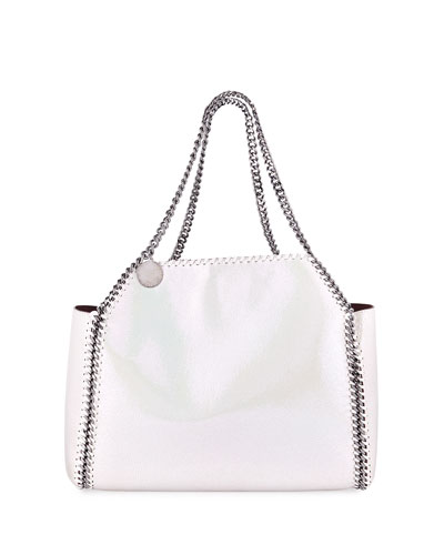 Shaggy Deer Falabella Medium Iridescent Reversible Tote Bag