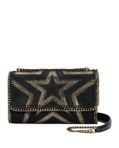 Falabella Shaggy Gradient Star Shoulder Bag