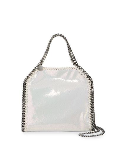 Iridescent Mini Falabella Tote Bag