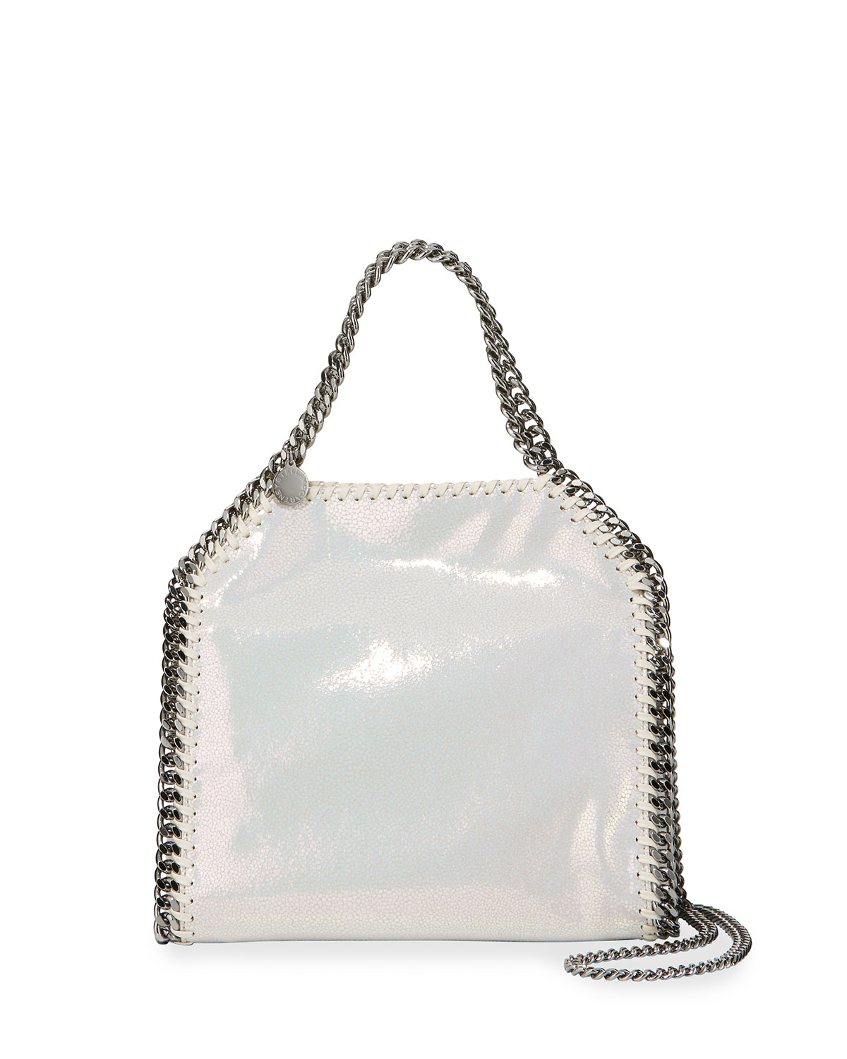 Iridescent Mini Falabella Tote Bag