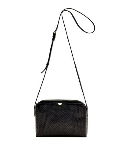 Multi-Pouch Python Crossbody Bag