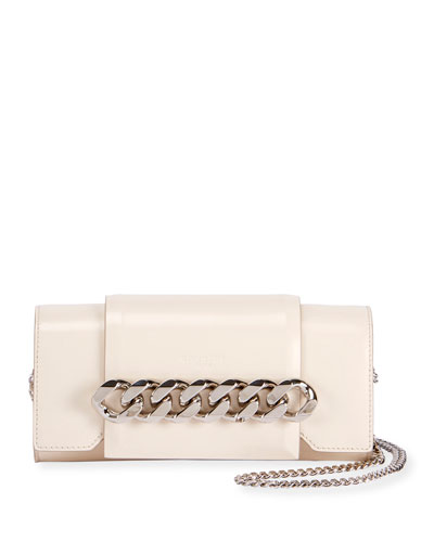 Infinity Curb Chain Clutch Bag