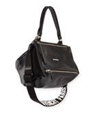 Pandora Small Logo-Strap Satchel Bag