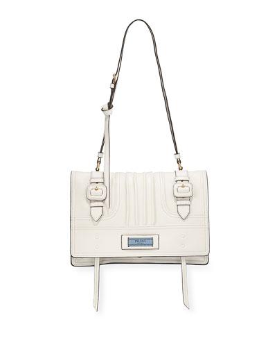 Medium Etiquette Patch Shoulder Bag