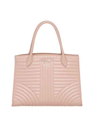 Quilted Paradigm Tote Bag