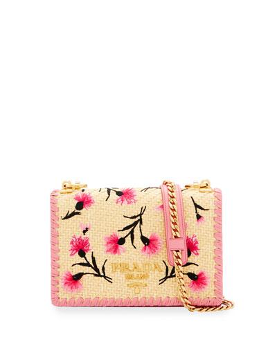 Small Basket Crossbody Bag