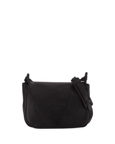 Daino Medium Leather Shoulder Bag