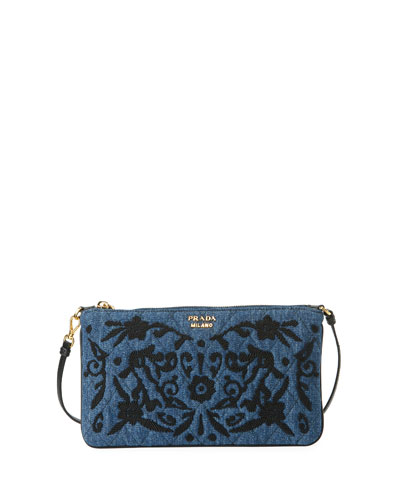 Denim Small Shoulder Bag