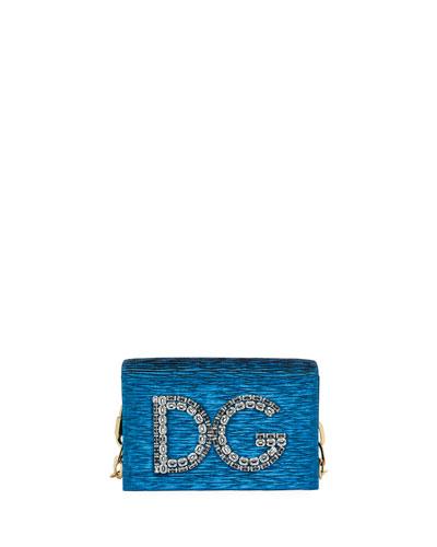DG Girls Plissé Crossbody Bag