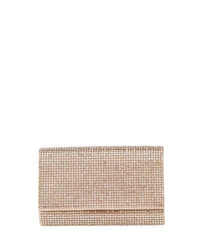 Crystal-Embellished Crossbody Bag