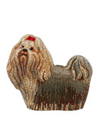 Charlie Yorkie Dog Perla Clutch Bag