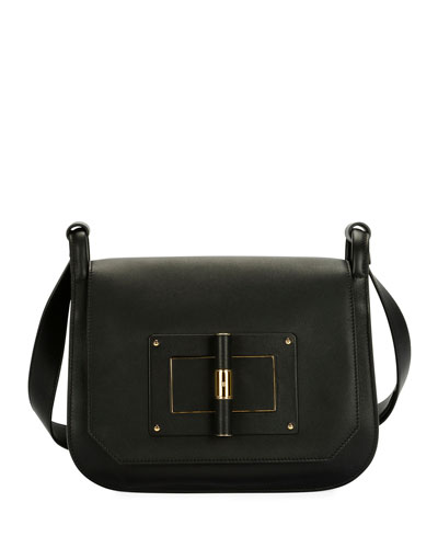 Natalia Large Calf Crossbody Bag