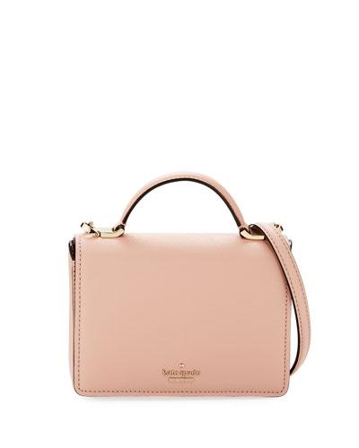hope saffiano leather top handle bag