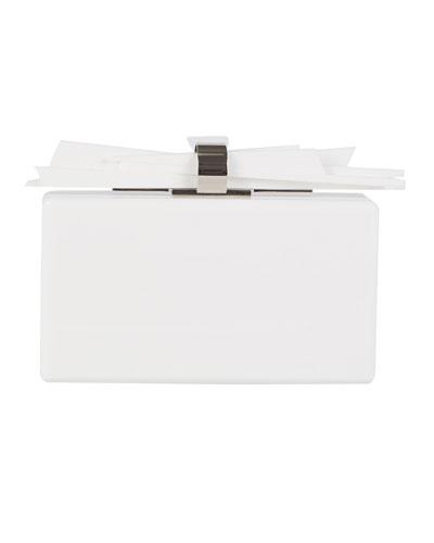 Wolf Acrylic Clutch Bag