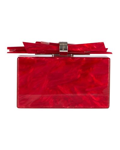 Wolf Acrylic Shard Clutch Bag