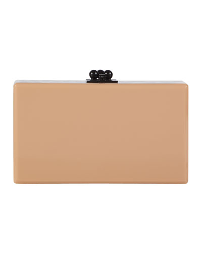 Jean Spots Acrylic Clutch Bag