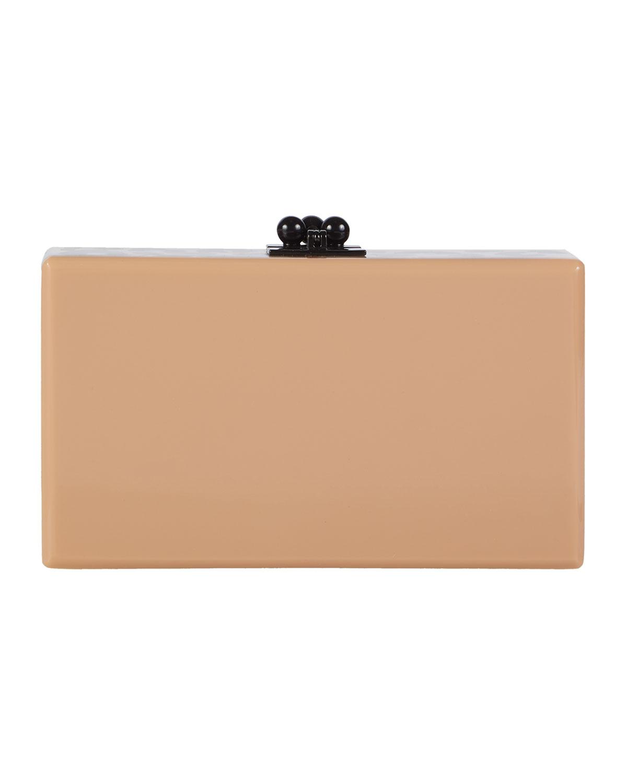 Jean Spots Acrylic Clutch Bag