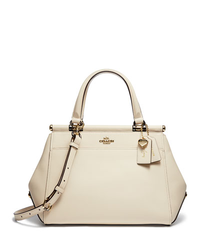 Selena Grace Leather Satchel Bag