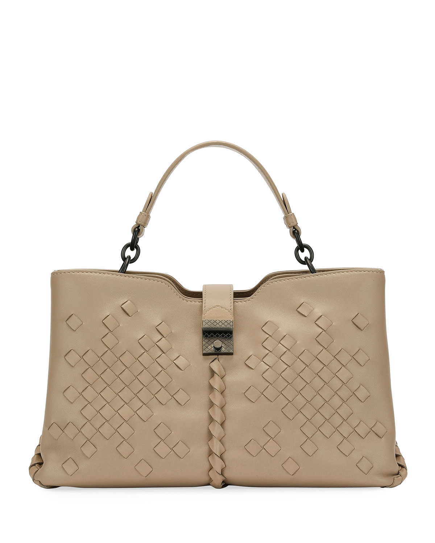 Napoli Medium Leather Tote Bag