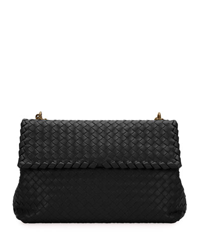Olimpia Medium Napa Chain Shoulder Bag