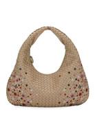 Meadow Flower Medium Hobo Bag